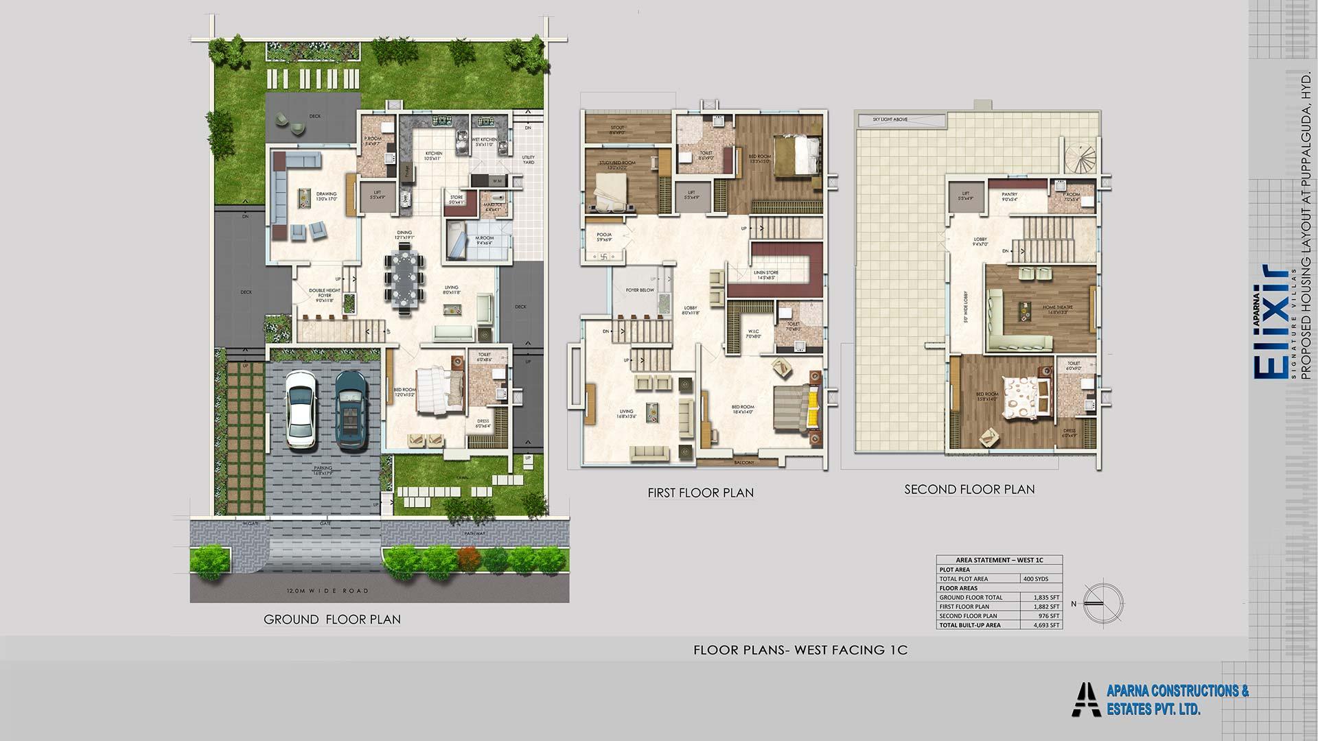 buy luxury properties online Hyderabad